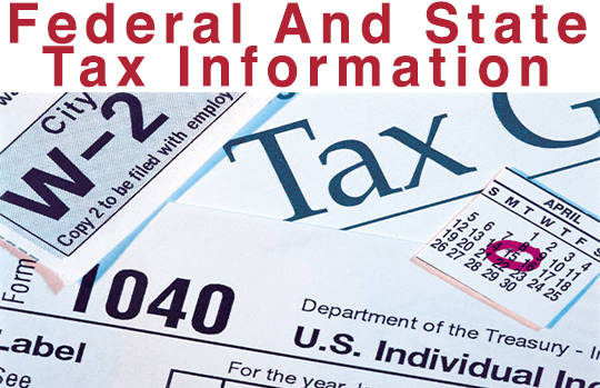 Printable Tax Forms